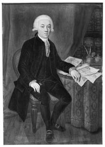 Portret van Joan Carel van Alderwerelt (1726-1791)