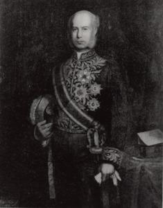 Portret van Johan Wilhem van Lansberge (1830-1905)