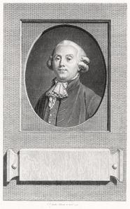 Portret van Pieter 't Hoen (1745-1828)