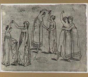 Dansende jonge vrouwen