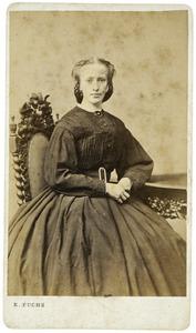 Portret van Maria Rosa Kuipers (1834-1877)