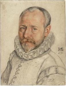 Portret van de kunstenaar Dirck de Vries