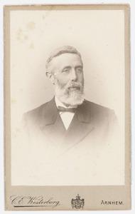 Portret van Dirk Rijnhard Bernhard van Lynden (1847-1916)