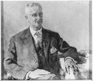 Portret van Rudolph Pabus Cleveringa (1894-1980)