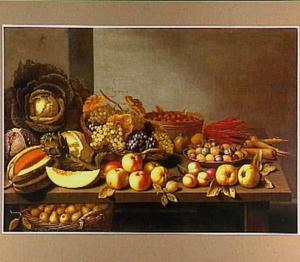 Vruchten- en groentestilleven