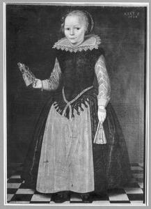 Portret van waarschijnlijk Margaretha van Unia (1617- )