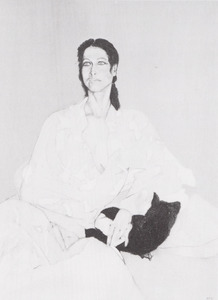 Portret van Alexandra Radius (1942- )