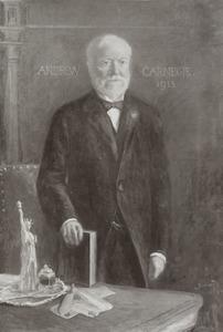 Portret van Andrew Carnegie (1837-1919)