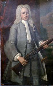Portret van Johan Deym (1693-1749)