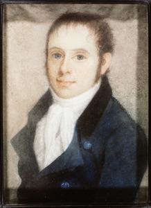 Portret van Jan Hendrik Begram (1775-1849)