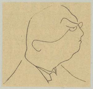 Portret van Jacob Israel de Haan (1881-1924)