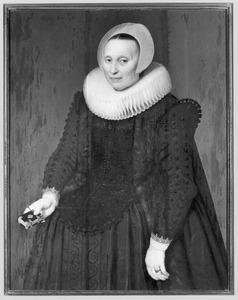 Portret van Christina van Berck (?-?)