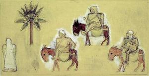 Studie voor 'Arabieren'