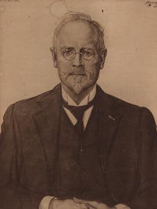 Portret van Willem Pieter Joannes Bok (1861-1935)