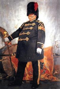 Portret van C.C. Fincken