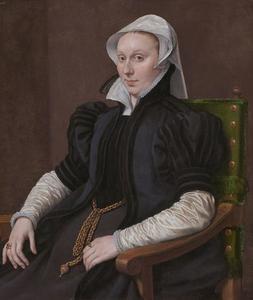 Portret van  Anne Ferneley (?-?), echtgenote van Sir Thomas Gresham