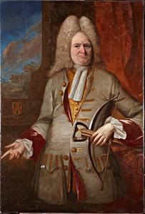 Portret van Hieronymus van Vechoven (1660-1734)