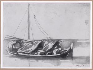 Zeilboot met vracht