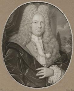 Portret van Hendrik van den Santheuvel (1690-1741)