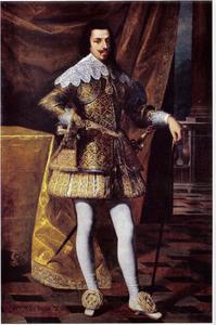 Portret van hertog Vittorio Amedeo I di Savoia (1587-1637)