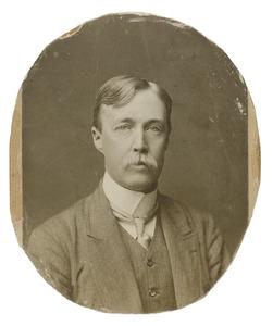 Portret van Theodorus Johannes van der Wyck (1871-1908)