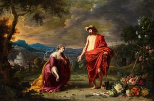 Noli me tangere: Christus verschijnt aan Maria Magdalena als tuinman