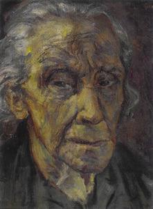 Portret van Henriette Roland Holst-van der Schalk (1869-1952)