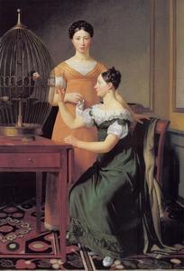 De oudste dochters van Mendel Levin Nathanson, Bella en Hanna