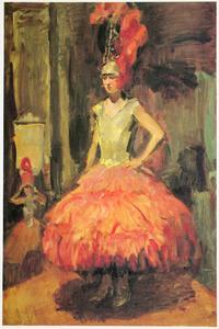 Danseressen van de Scala te Den Haag