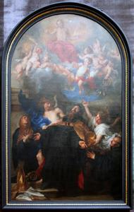De HH. Augustinus en Monica in extase