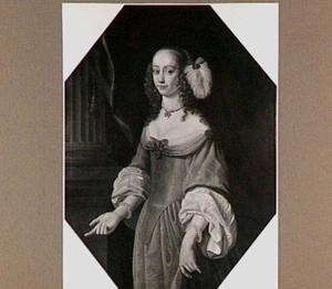 Portret van Agneta Deuts (1633-1692)