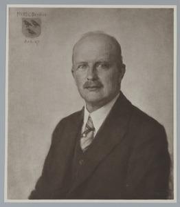 Portret van mr. Cornelis Johannes Gerardus Bredius (1883-?)