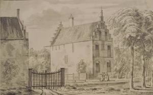 Huis Oosterlee of Hof te Lier bij het dorp De Lier