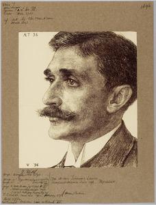 Portret van Willem Johannes Leyds (1859-1940)