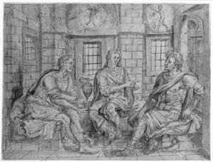 Jozef legt in de gevangenis de dromen van de bakker en de schenker uit (Genesis 40:5-19)