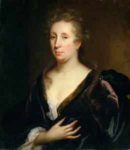 Portret van Rachel Ruysch (1664-1750)