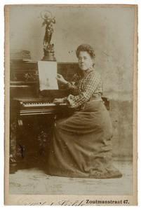 Portret van M. de Gilde