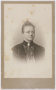 Portret van Sara Suringar (1866-1920)