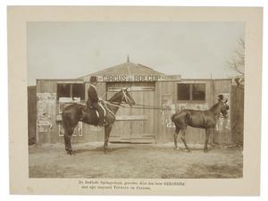 Gerardini voor circus de Boecop van Jacob Carel Julius Brantsen (1877-1930)