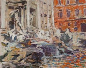Trevi fontein, Rome