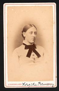 Portret van Virginie Adela de Fremery (1862-1893)