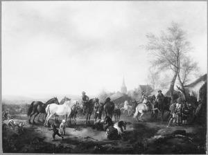 Paardenmarkt te Valkenburg
