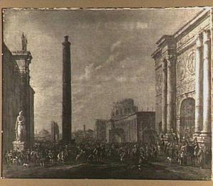 Intocht van Scipio Africanus in Rome