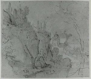Berglandschap met dorp