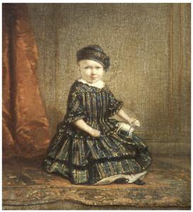 Portret van het zoontje van Johannes de Wit-Beukers