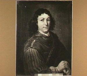 Portret van een man met halsberg
