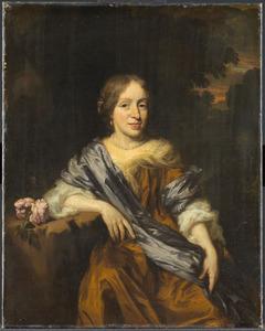 Portret van Catharina Pottey (1641-1706)