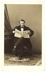 Portret van Maurice Emmanuel Honore van der Vliet (1847- )