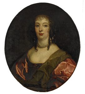 Portret van Anne Carr, Lady Russell, Countess of Bedford (1615-1684)