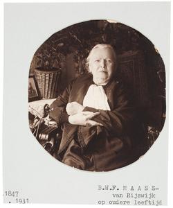 Portret van Berendina Wilhelmina Frederika van Rijswijk (1847-1931)